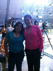 オープン 優勝 Susana  Acosta (右側)