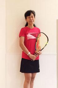 坂本登志子選手 (神戸YMCA)